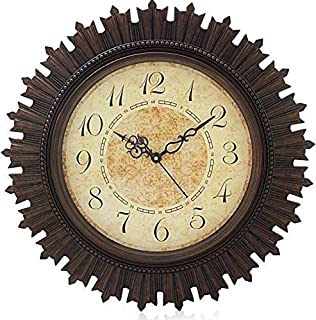 KITCHINDRA Steven Quartz Vintage Design Wall Clock for Home/Wall Clock with Silent Movement/Wall Clock 18 inch Size