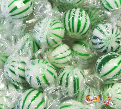 Jumbo Spearmint Balls 120 Pieces: 1 Count