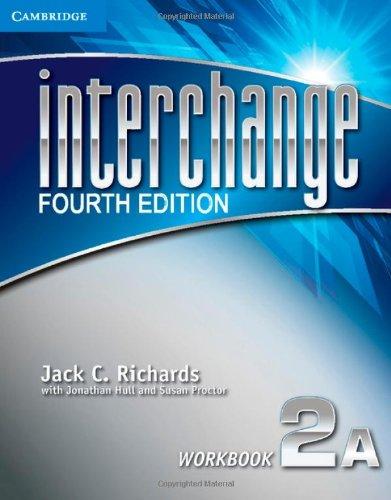 Interchange 2A - Workbook - 04 Edition