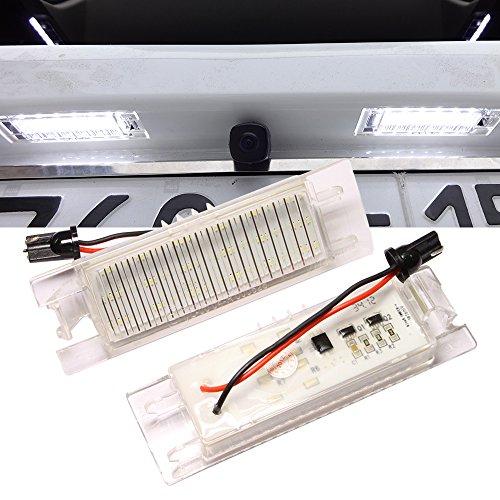 LED numero targa luci lampada allo xeno bianco per grande punto Van 188AX Seicento 188multipla Marea