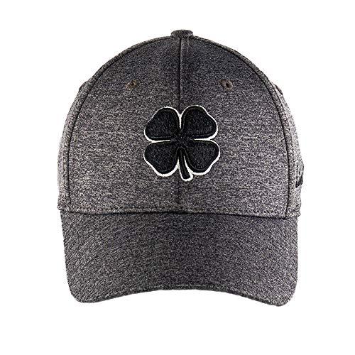 Black Clover Lucky Heather Charcoal Flex Cap, Black/White/Charcoal (L/XL)