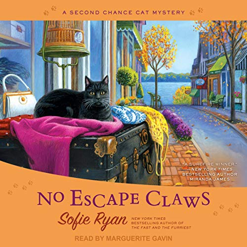 No Escape Claws     Second Chance Cat Mystery Series, Book 6              By:                                                                                                                                 Sofie Ryan                               Narrated by:                                                                                                                                 Marguerite Gavin                      Length: 7 hrs and 17 mins     98 ratings     Overall 4.7