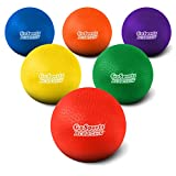 GoSports 8.5' Soft Touch Playground Ball (Set of 6) with Carry Bag and Pump,...