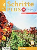 Schritte plus Neu 4 - Oesterreich: Deutsch als Zweitsprache / Kursbuch + Arbeitsbuch mit Audio-CD zum Arbeitsbuch