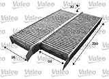 Valeo 715555 Filtre charbon actif, Set de 2