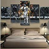 5 Stück Drucke Auf Leinwand Gedruckt Malerei Wohnzimmer