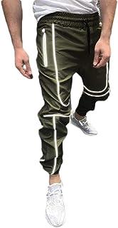 GAGA Men Fashion Capris Jogger Training Pants Fitness Athletic Track Shorts Sweatpant