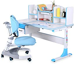 Children Study Desk Multi-Functional Desk and Chair Set Desk Chair Set Childen Kids Study Table School Student Desk Book S...