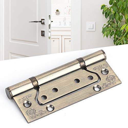 Oumefar Möbelscharnier korrosionsbeständig Einfach zu installierendes 2-teiliges Möbelzubehör aus starkem und robustem Edelstahl