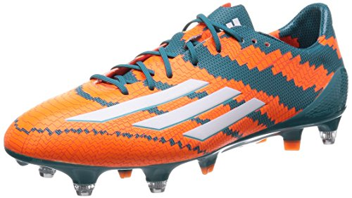adidas Messi Mirosar10 10.1 SG Herren Fußballschuhe, Orange (Power Teal F14/Ftwr White/Solar Orange), 40