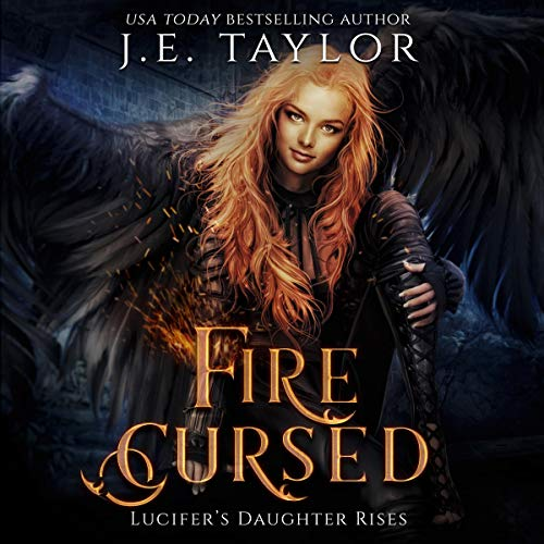 Fire Cursed audiobook cover art