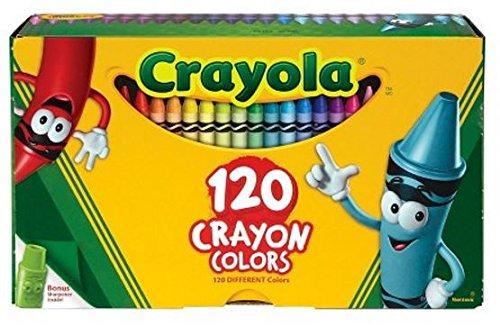 2 PACK Crayola 120ct Original Crayons