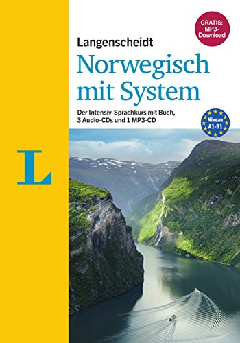 Langenscheidt Norwegisch mit System - Sprachkurs für Anfänger und Fortgeschrittene: Der Intensiv-Sprachkurs mit Buch, 3 Audio-CDs  und 1 MP3-CD (Langenscheidt Sprachkurse mit System)