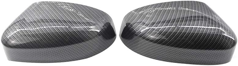 JNXZHDCJ 1 par de Cubierta de la Carcasa del Espejo de Fibra ...