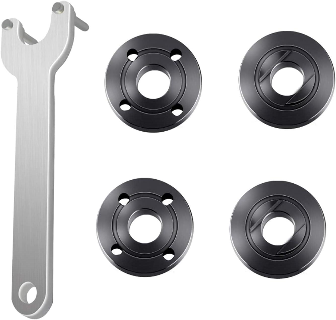 5pcs Very popular Grinder Flange Angle Wrench Spanner Metal Nuts Regular store Lock