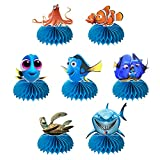 Sea Animal Honeycomb Centerpiece Ocean Table Decorations Fish Finding Dory Honeycomb Centerpiece Decorations for Sea Animal Themed Birthday Party Baby Shower.