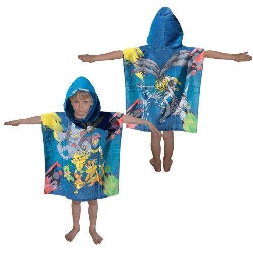 FRIP - Pokemon Badeponcho ca. Grösse 60x120 für Kinder von ca. 3-7 Jahre