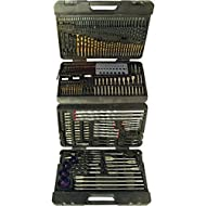 Complete and comprehensive selection of assorted drill bits in a range of sizes for accurate cutting of holes into various materials Constructed from high-speed steel (HSS) for quick and accurate cutting Compatible with all 13 mm 3-jaw chucks Content...