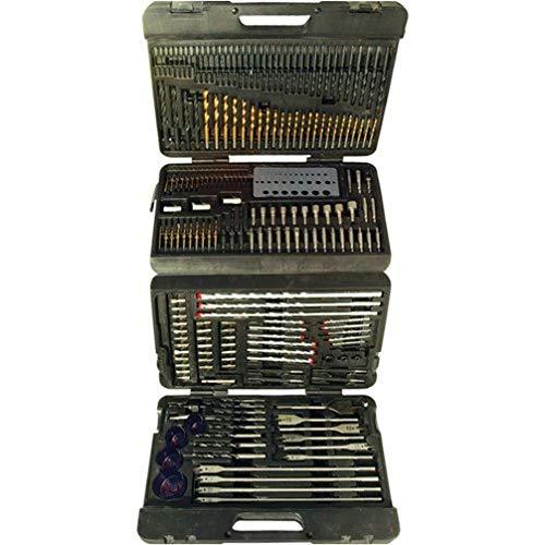 Silverline 868762 Assorted Drill Bit Set - 204 Pieces