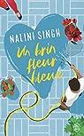 Un brin fleur bleue par Singh