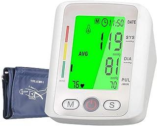 MLYWD Tensiómetro de Brazo Digital, Tecnología Intellisense,Transmisión de Voz para Dar Lecturas dePresión Arterial Rápidas, Cómodas y Precisas