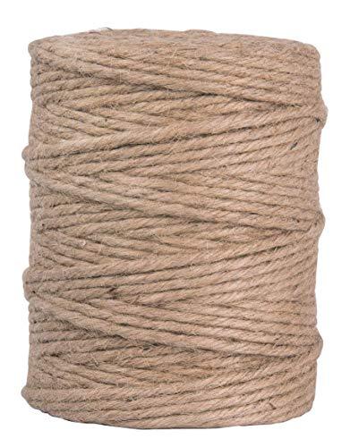 Rayher Hilo de Yute, Sextuple, 4-6mm Aprox, Natural, Bobina 120m