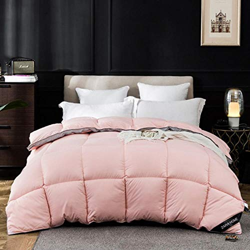 CHOU DAN Anti-allergic duvet, 9 pounds, double single, anti-bacterial quilt-180 * 220cm 4000g_Jade