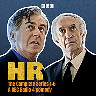 HR: The Complete Series 1-5     A BBC Radio 4 Comedy              By:                                                                                                                                 Nigel Williams                               Narrated by:                                                                                                                                 full cast,                                                                                        Nicholas le Provost,                                                                                        Jonathan Pryce                      Length: 13 hrs and 52 mins     14 ratings     Overall 4.3