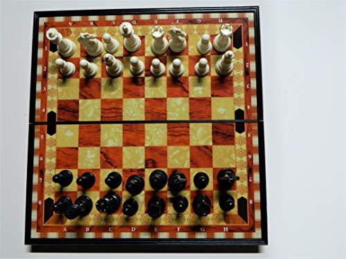 Juego de mesa de viaje magnético y plegable de 19 x 19 cm.