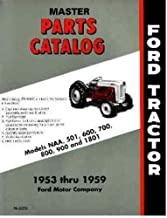 Ford NAA and Golden Jubilee Tractor Parts Book Master Catalog 1953 1954 1955