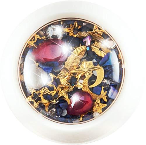 NAILART MIX 4001 •• 1 Döschen Einleger Overlay Strass Perlen Charms