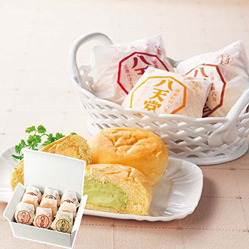 お取り寄せスイーツ (八天堂 プレミアムフローズン クリームパン(9個))