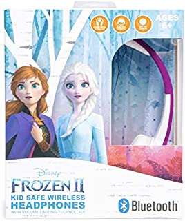 Disney Frozen 2 Bluetooth Kids Headphones for Kids/Toddler/Teen Girls