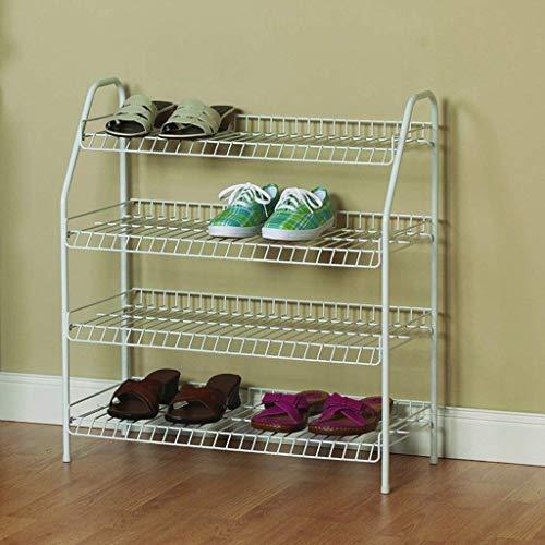 XUSHEN-HU Estante de almacenamiento de zapatos de ventilación simple de múltiples capas