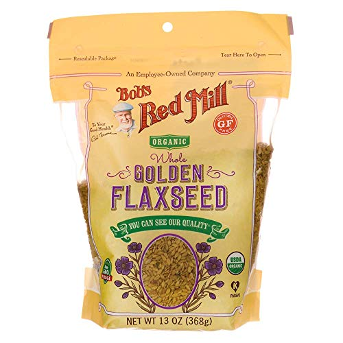 Bob's Red Mill Organic Raw Whole Golden Flaxseeds