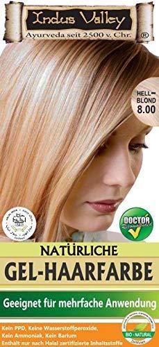 IndoNatura Indus Valley Natürliche Gel-Haarfarbe Hellblond (90% natürlich)