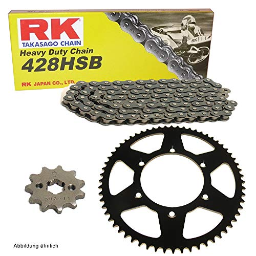 Kettensatz geeignet für Yamaha MT 125 14-18 Kette RK 428 H 132 offen 14/48