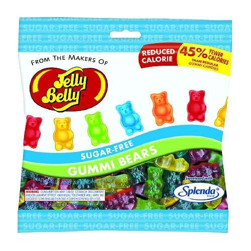 Jelly Belly Sugar Free Gummi Bears Bag 2.8 oz (79.4 g)