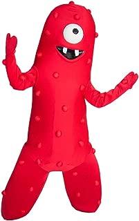 Muno Red Monster Yo Gabba Gabba Mascot Costume Character Cosplay Party Birthday Halloween