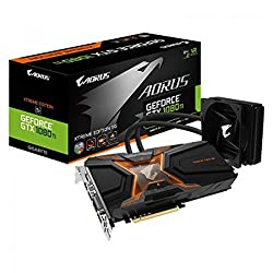 Gigabyte Geforce GTX 1080 TI Aorus Waterforce Xtreme Edition graphics card