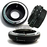 Bower Lens Adapter FD Manual Focus to Canon EOS Auto Focus Cameras (Only Works Manually)
