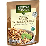 SEEDS OF CHANGE Organic Seven Whole Grains 8.5 Ounce (Pack of 12)