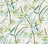 Bedrucktes Segeltuch NAPUA grün