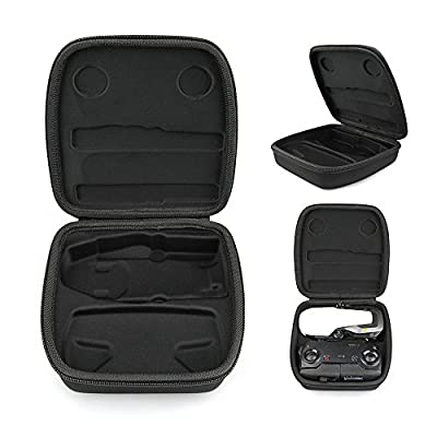 Rantow RC Quadcopter Storage Bag Case Hard Shell Protective Box Suitcase for DJI Mavic Air - Fits Mavic Air and Remote Controller