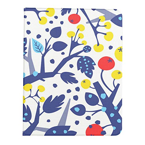 All-New Soft TPU Back Cover Case for iPad Pro 11 2020/2018 with Pencil Holder - Full Body Protection and Auto Wake/Sleep,Floral