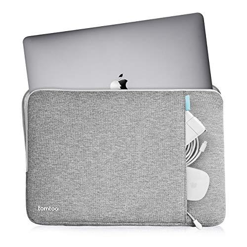 tomtoc Laptop Tasche Hülle für 13-Zoll MacBook Air 2018-2021 M1/A2337 A2179 A1932, 13-Zoll MacBook Pro 2016-2021 M1/A2338 A2251 A2289 A2159, Dell XPS 13 2020, 12,9-Zoll iPad Pro 3./4. Gen.