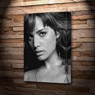 Seasons Erica Durance - Canvas Print (A4 - Signed by The Artist) #js005