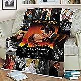 PuresDesigns Gone with The Wind Fleece Blanket Gift Christmas Birthday Fleece Blanket