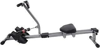 GAESHOW Stål roddmaskin konditionsmaskin träningsmaskin kroppsträning hem gym fitness tillbehör roddmaskin