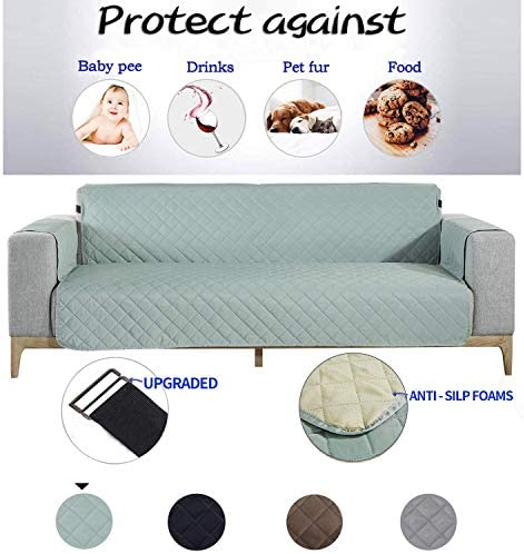 Best NEKOCAT Sofa Cover, Extra-Wide Couch Cover for Dogs, Waterproof Sofa Furniture Protection from Pets,